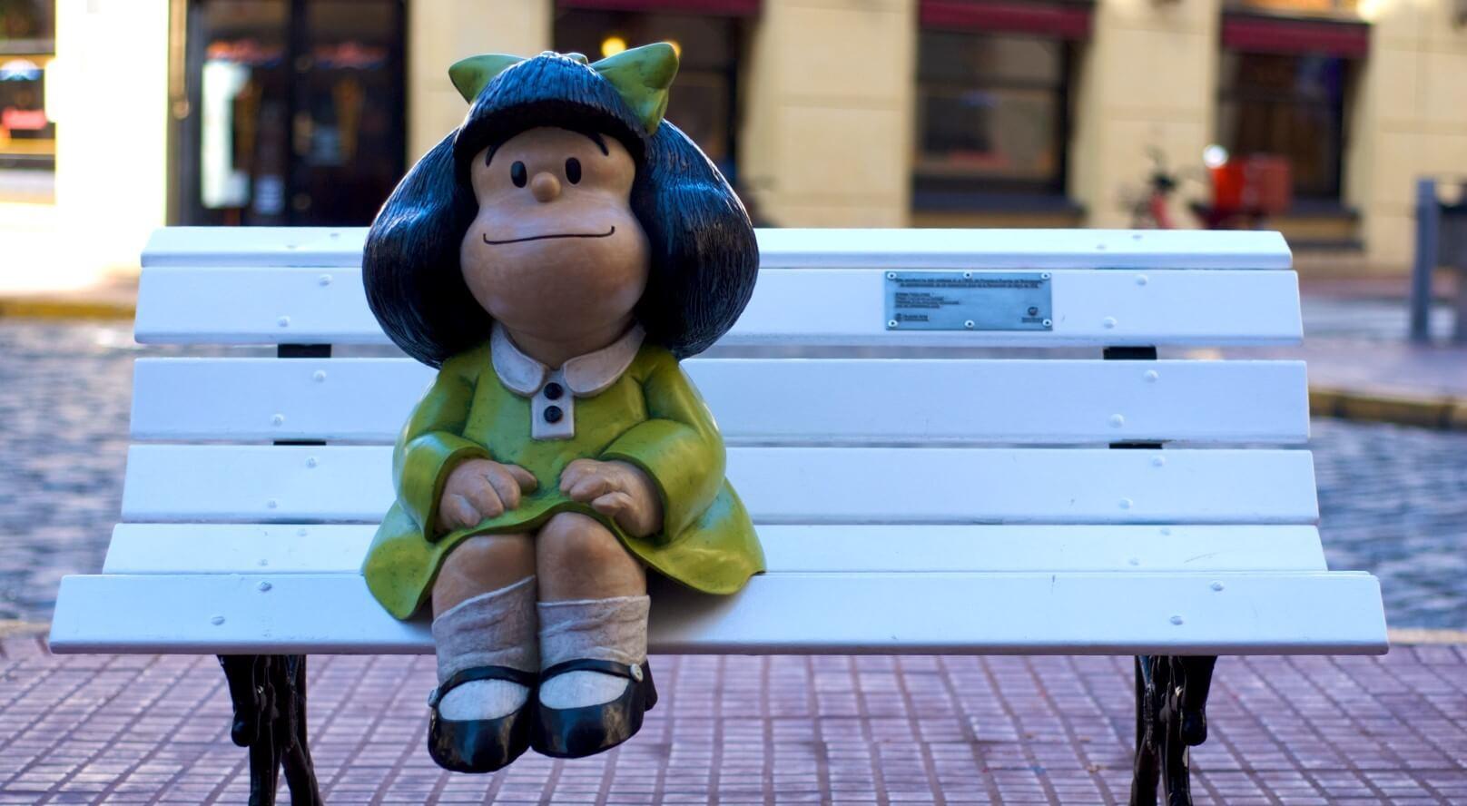 Mafalda_San_Telmo Buenos Aires ao ar livre