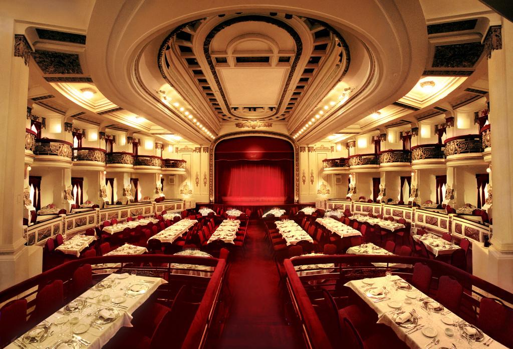 Teatro A3 original Ceia de Natal em Buenos Aires
