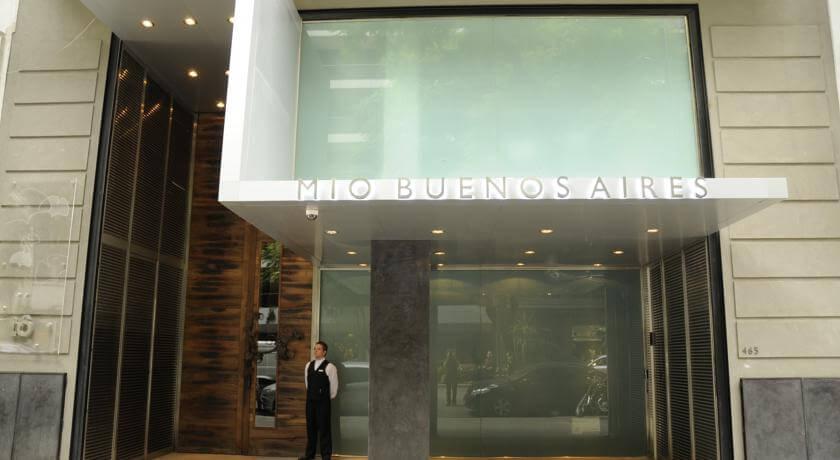Mio Buenos Aires, hotel boutique aposta em materiais nobres e tecnologia.