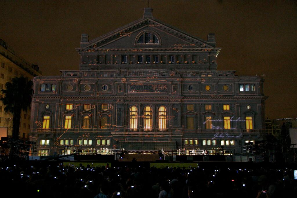 Baires. Mayo 24 de 2010. Vistas del teatro Colon. Foto Estrella Herrera-gv/GCBA.-