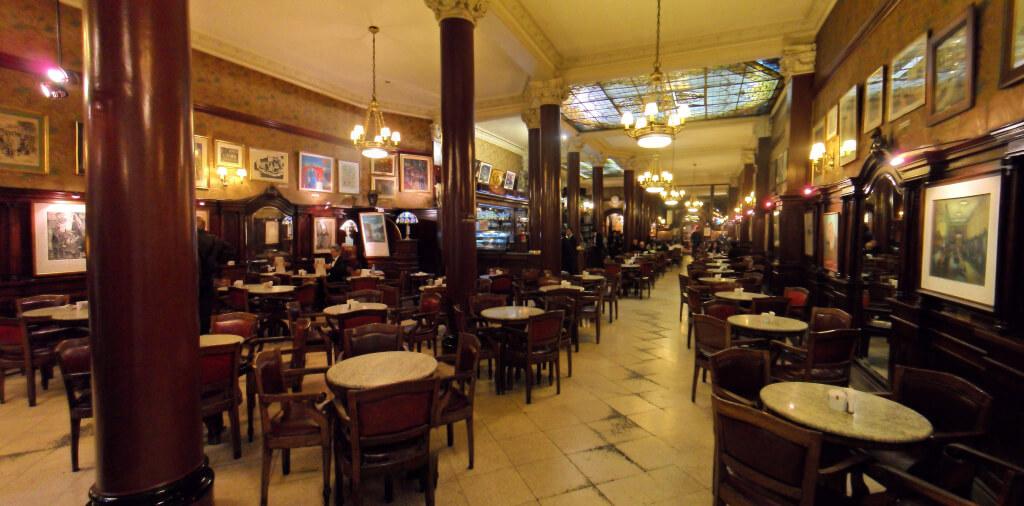 cafe tortoni Onde Comer em Buenos Aires