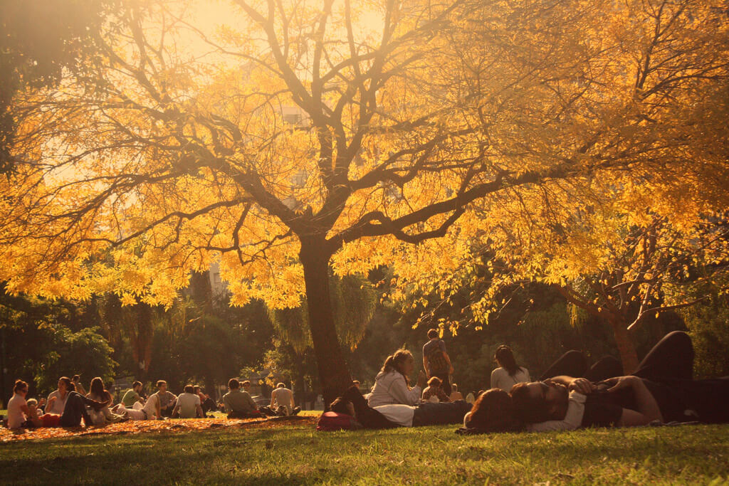 Outono em Buenos Aires