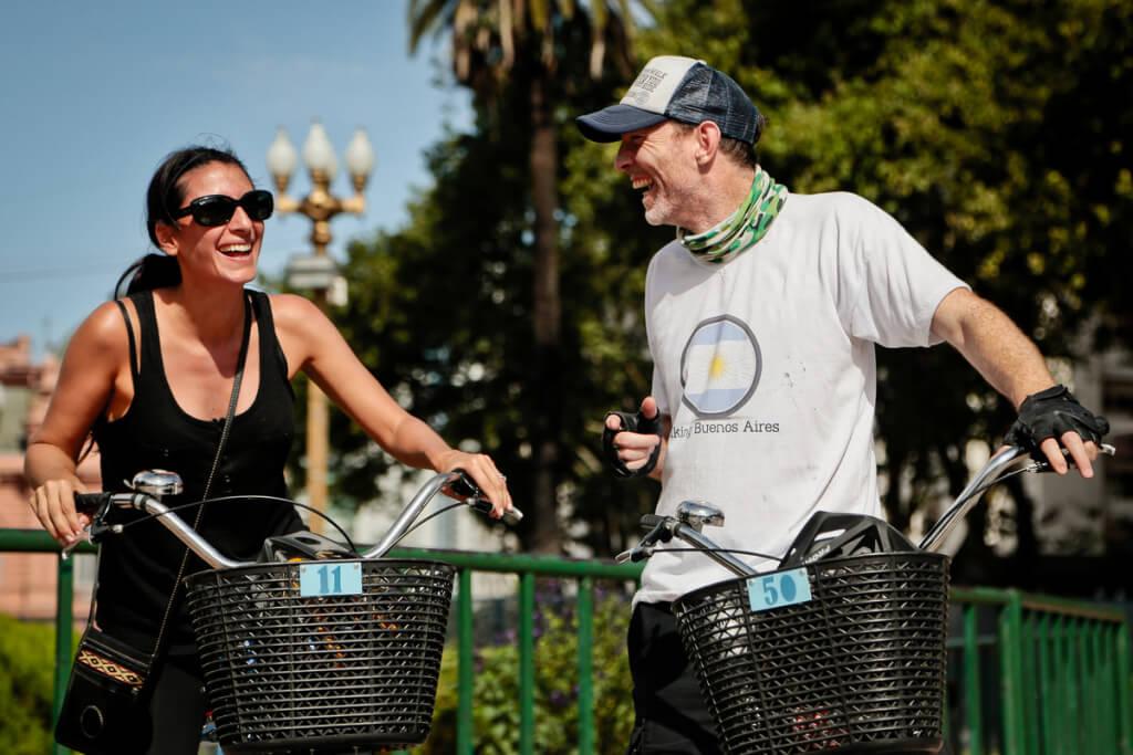 bike tour O que vestir em Buenos Aires no verão