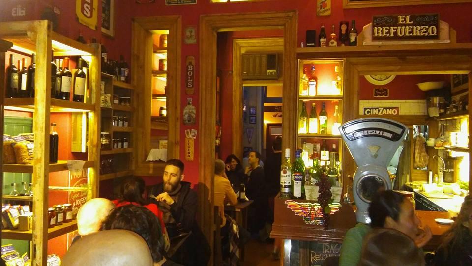 Onde comer e beber em San Telmo El Refuerzo Provisiones