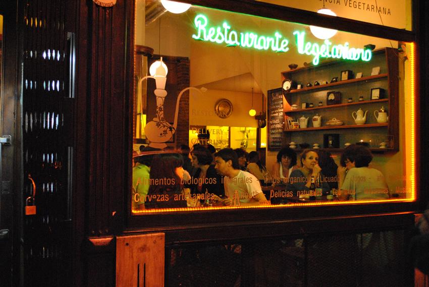 restaurantes vegetarianos em buenos aires sattva