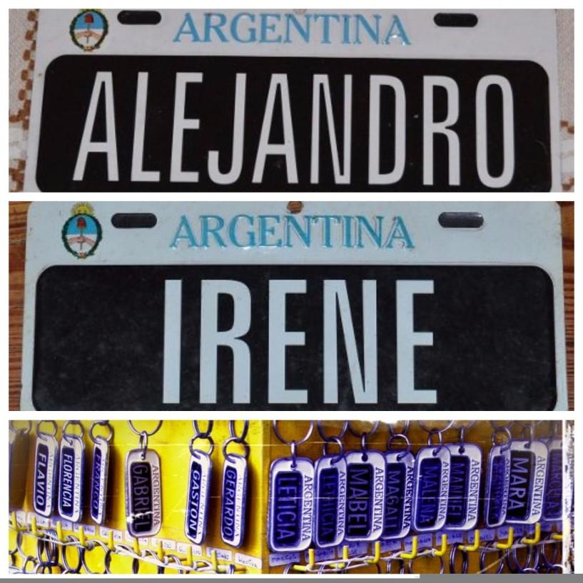 Onde comprar lembrancinha em Buenos Aires_montagem_placas