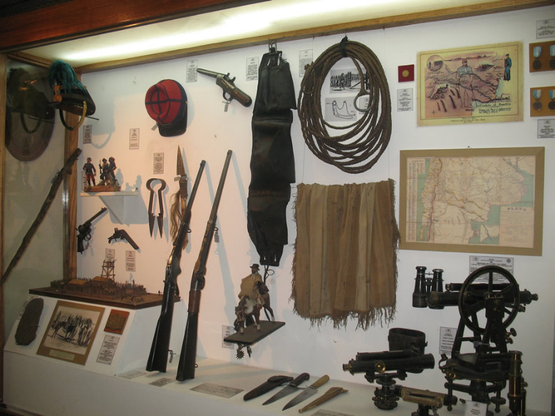 Museu de Armas em Buenos Aires_Julio Roca