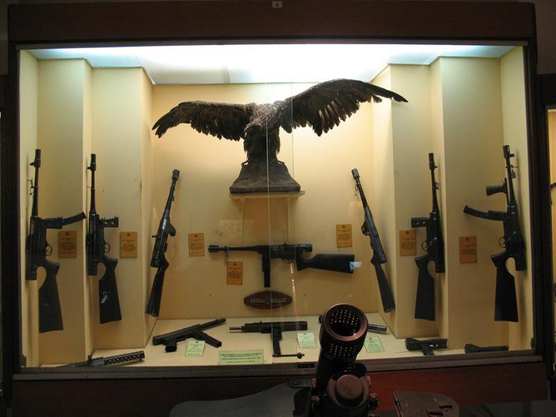 Museu de Armas em Buenos Aires_Paseo de la Libertad