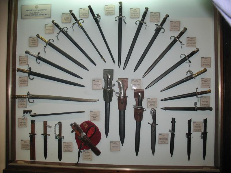 Museu de Armas em Buenos Aires_vitrine_luis