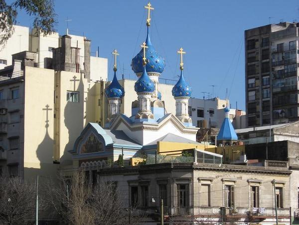 igreja ortodoxa russa san telmo