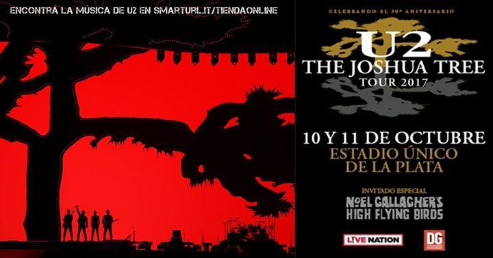 U2 em Buenos Aires_datas