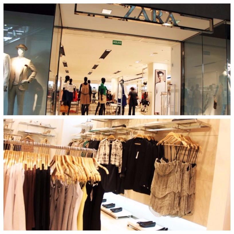 Zara em Buenos Aires colagem 02