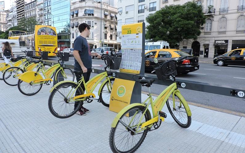 Aluhuel de bicicleta em Buenos Aires