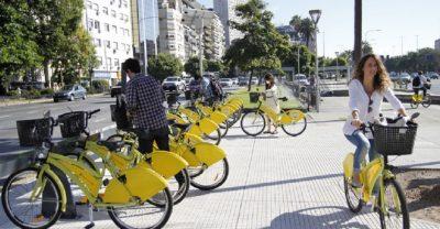 bicicleta grátis em Buenos Aires