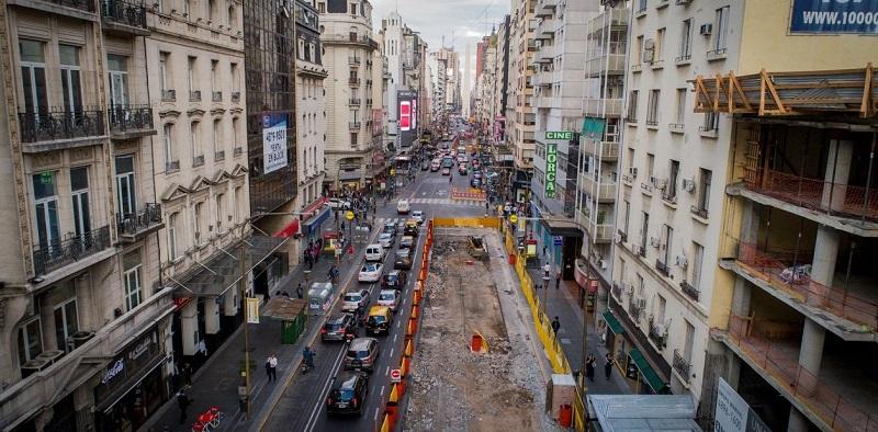 obras em Buenos Aires