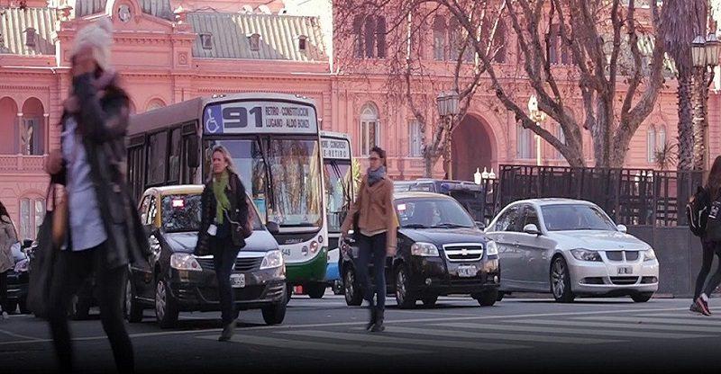 pontos turísticos no centro de Buenos Aires