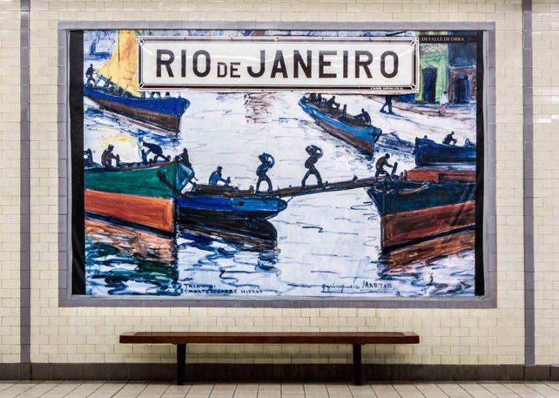 metrô-de-Buenos-Aires_Quinquela-Martin