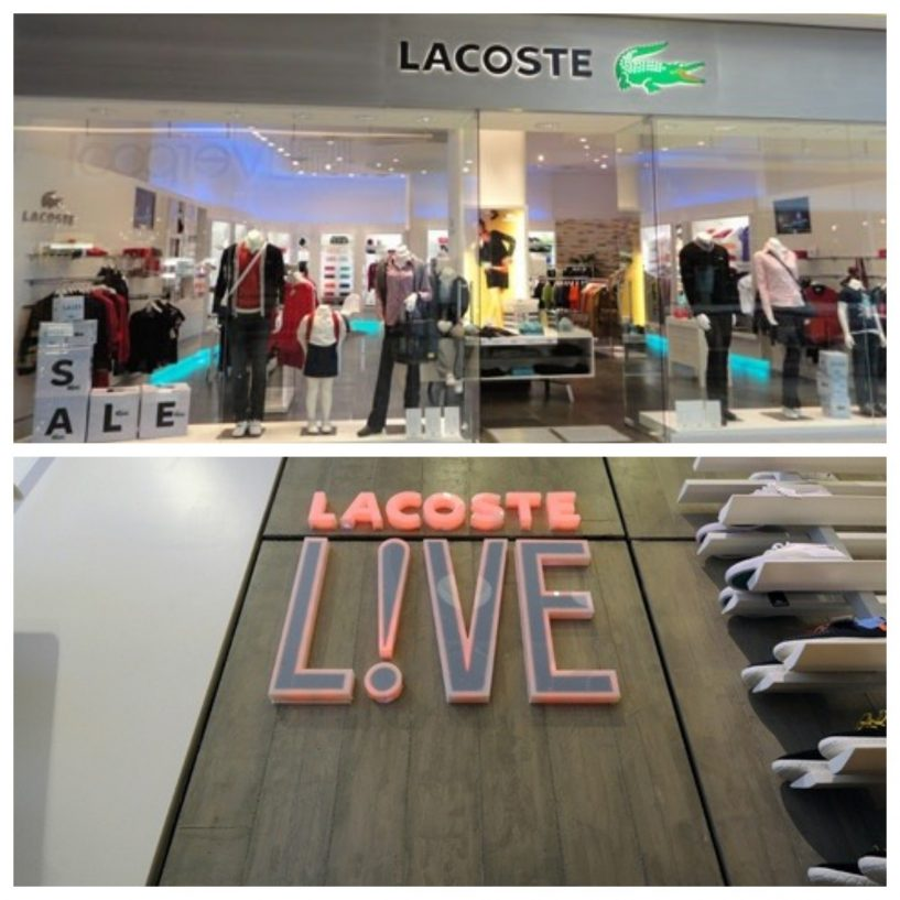onde comprar Lacoste em Buenos Aires-shoppings
