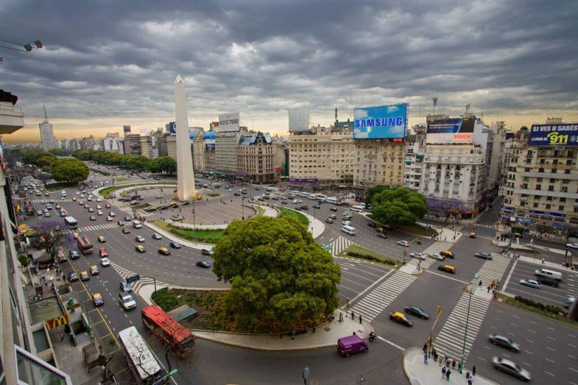 prédios-arquitetônicos-de-Buenos-Aires-Obelisco