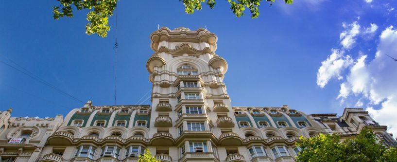 prédios arquitetônicos de Buenos Aires-Palacio-Barolo
