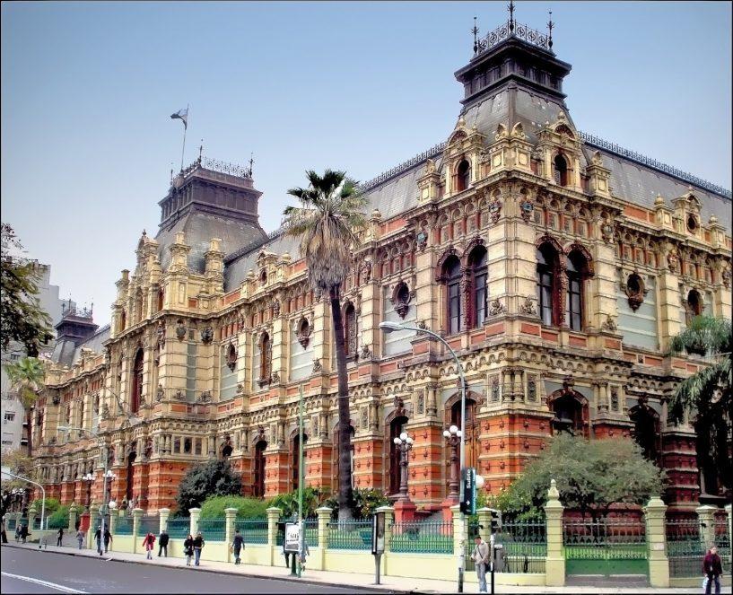 prédios arquitetônicos de Buenos Aires-Palacio de Aguas Corrientes