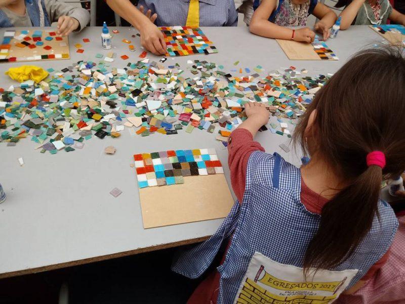 calle-lanin-oficina-de-mosaico para criancas