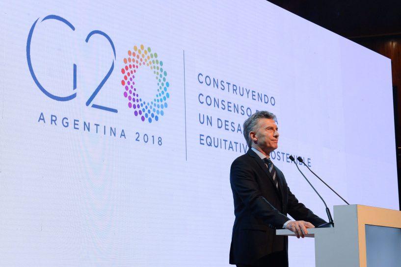 G-20 em Buenos Aires Macri