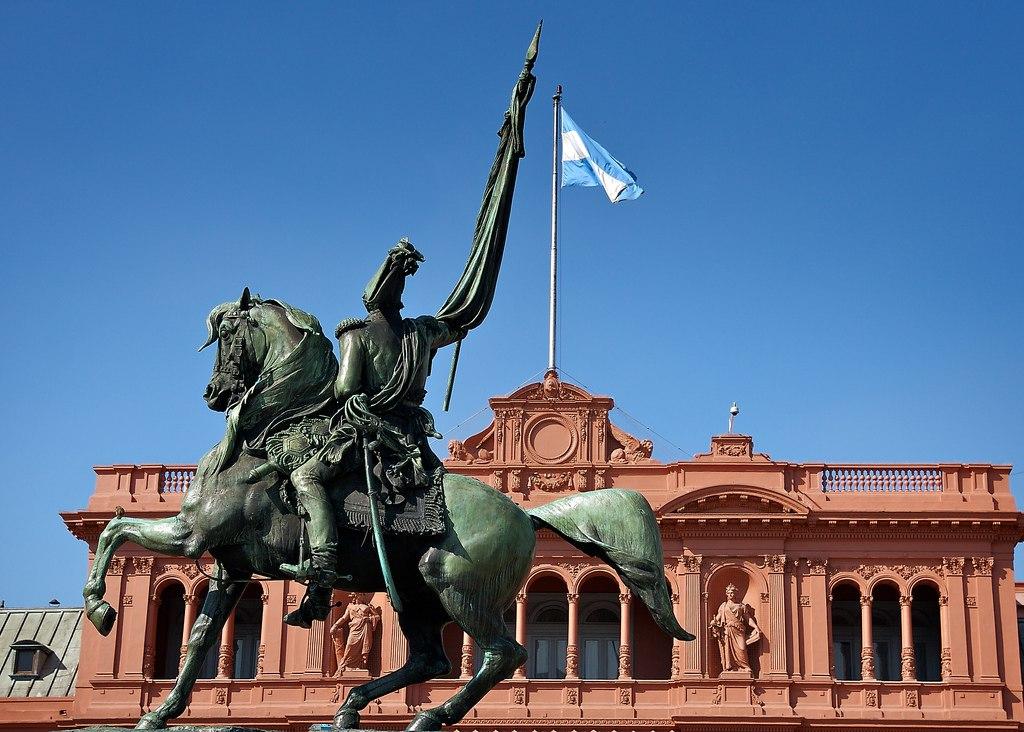 David Casa Rosada Manuel Belgrano