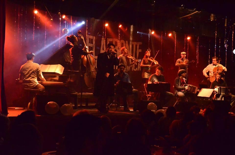 orquestra el afronte tango maldita milonga