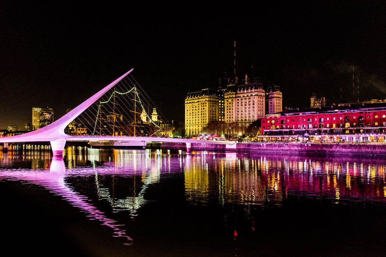Pontos Iluminados de Buenos Aires
