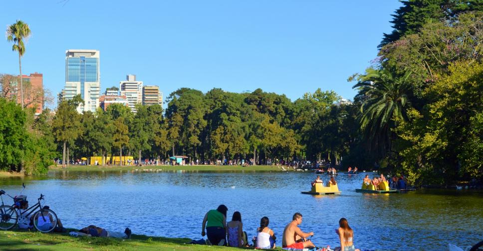 áreas verdes em Buenos Aires no pós quarentena